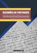 Resumão da língua Portuguesa